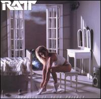 Ratt - Invasion Of Your Privacy CD Cover Art