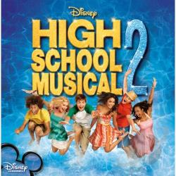 Original Soundtrack - High School Musical 2 CD Cover Art