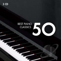 Best Piano 50 - 50 Best Piano Classics CD Cover Art