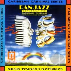 Alexander, Clive / Annise Hadeed - Pan Jazz Conversations CD Cover Art