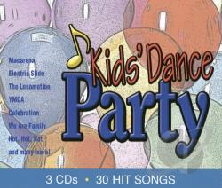 Kid's Dance Express - Kids' Dance Party CD Cover Art