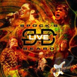 Spock's Beard - Live CD Cover Art