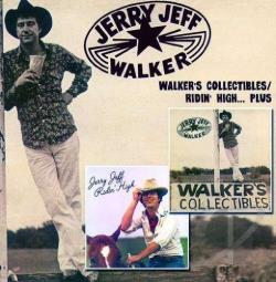 Walker, Jerry Jeff - Walker's Collectibles/Ridin High... Plus CD Cover Art