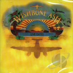 Wishbone Ash - Live Dates CD Cover Art