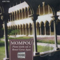 Ayats / Musica Callada - Mompou:Piano Works Vol 4 CD Cover Art