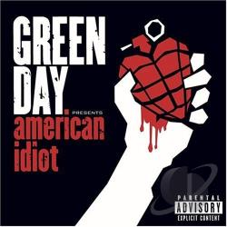 Green Day - American Idiot CD Cover Art