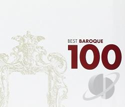 Best Baroque 100 - 100 Best Baroque CD Cover Art