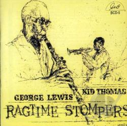 Lewis, George / Thomas, Kid - Ragtime Stompers CD Cover Art