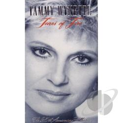 Wynette, Tammy - Tears Of Fire: The 25TH Anniversary Collection CD Cover Art