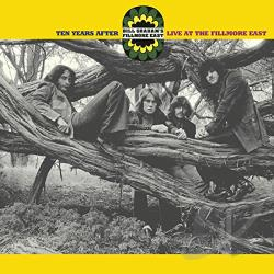 Ten Years After - Live at the Fillmore East 1970 CD Cover Art