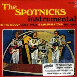 Spotnicks - Instrumental CD Cover Art