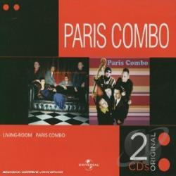 Paris Combo - Liveing Room/Paris Combo CD Cover Art