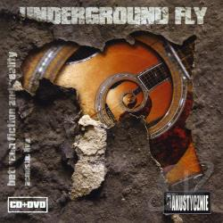 Underground Fly - Between Fiction & Reality CD Cover Art