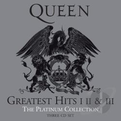Queen - Platinum Collection, Vol. 1 - 3 CD Cover Art