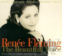 Fleming, Renee - Beautiful Voice CD Cover Art