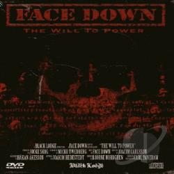 Face Down - Will To Power CD Cover Art