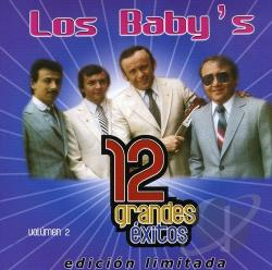 Los Baby's - 12 Grandes Exitos Volumen 2 CD Cover Art