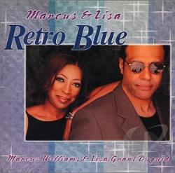 Marcus Williams and Lisa Grant Duguid - Retro Blue CD Cover Art