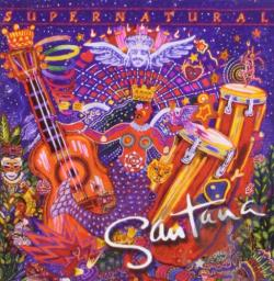 Santana - Supernatural CD Cover Art