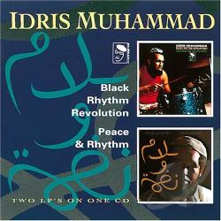 Muhammad, Idris - Black Rhythm Revolution/Peace & Rhythm CD Cover Art