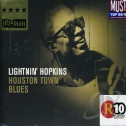Hopkins, Lightnin' - Houston Town Blues CD Cover Art