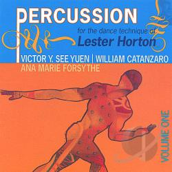 Victor Y. See Yuen - Percussion for the Dance Technique of Lester Horton CD Cover Art