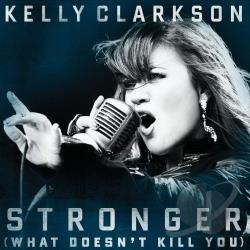 Clarkson, Kelly - Stronger (What Doesn't Kill You) DS Cover Art