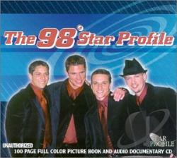 98 Degrees - Star Profile CD Cover Art
