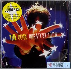 Cure - Greatest CD Cover Art