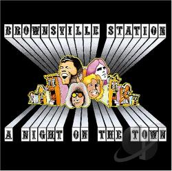 Brownsville Station - Night on the Town CD Cover Art
