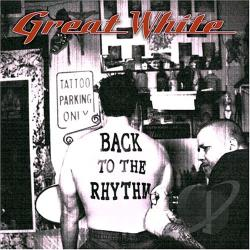 Great White - Back to the Rhythm CD Cover Art