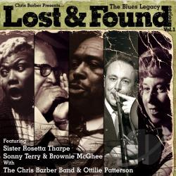 Blues Legacy: Lost and Found Series, Vol. 1 CD Cover Art