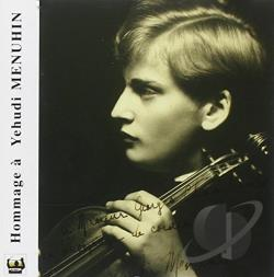 Hommage � Yehudi Menuhin CD Cover Art