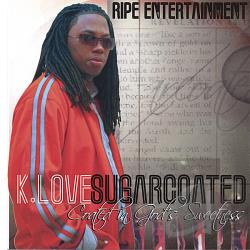 K.Love - Sugar Coated CD Cover Art