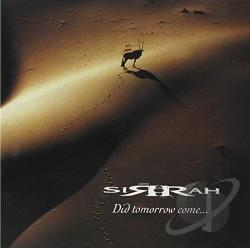 Sirrah - Did Tomorrow Come CD Cover Art