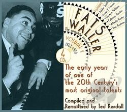 Waller, Fats - Complete Recorded Works, Vol. 1: Messin' Around with the Blues CD Cover Art