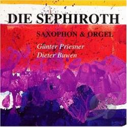 Buwen / Priesner, Gunter: sax - Sephiroth CD Cover Art