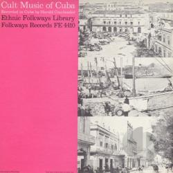 Cult Music of Cuba CD Cover Art