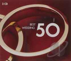 50 Best Wedding - Best Wedding 50 CD Cover Art