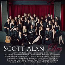 Alan, Scott - Live CD Cover Art
