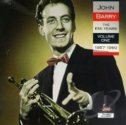 Barry, John - EMI Years Vol. 1 1957-1960 CD Cover Art