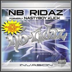 Nb Ridaz - Invasion CD Cover Art
