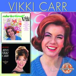 Carr, Vikki - Color Her Great/Discovery CD Cover Art