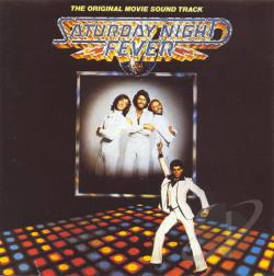 Bee Gees - Saturday Night Fever CD Cover Art