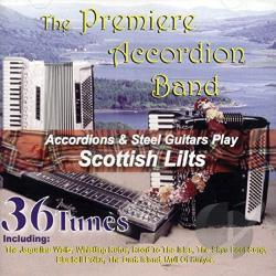 Premier Accordion Band - Scottish Lilts CD Cover Art