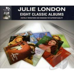 London, Julie - Eight Classic Albums CD Cover Art