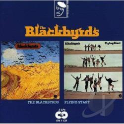 Blackbyrds - Blackbyrds/Flying Start (2on1) CD Cover Art