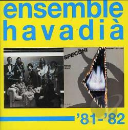 Ensemble Havadia - 81-82 CD Cover Art