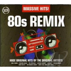 Massive Hits: 80s Remix CD Cover Art
