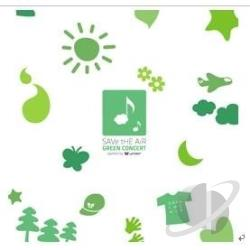 Save the Air: Green Concert CD Cover Art